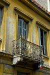 old balcony, Plaka