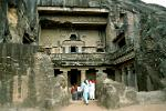 the Buddhist caves of Ajanta, Maharashtra