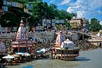 temples on the banks of the Ganges, Haridwar