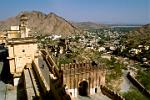 Amber Fort and surrounding hills
