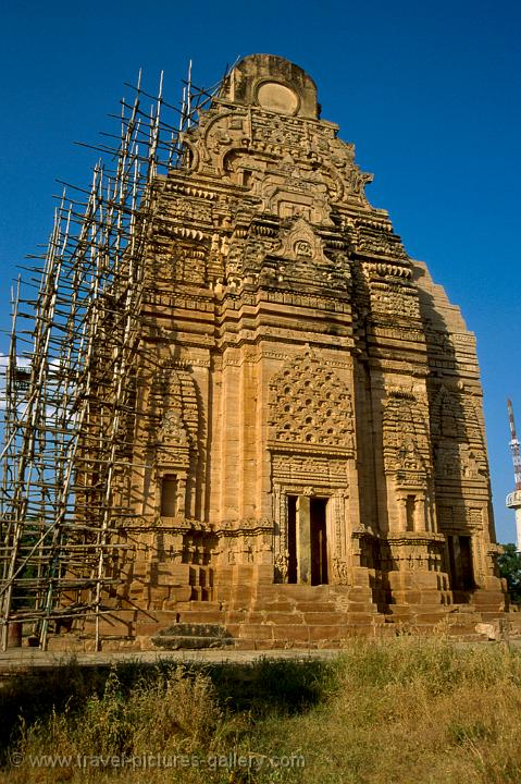 Pictures of india khajuraho 0023 the teli ka mandir a for Southern architectural styles