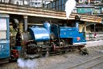 West Bengal - Darjeeling - the famous Toy Train operated by steam power