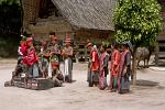 Batak cultural performance, Lake Toba