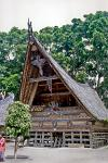 traditional Batak architecture, Lake Toba