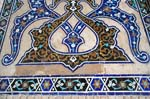 mosaic detail of Jameh Mosque