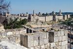 the old city walls were built by the Turkish sultan Suleiman the Magnificent