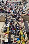 busy market at the Damascus Gate