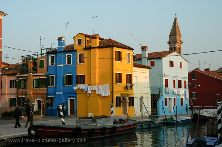 Pictures Of Italy Burano 0016 Evening Atmosphere
