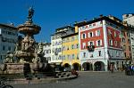market square and Neptune fountain, Trento