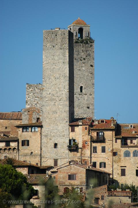the medieval towers