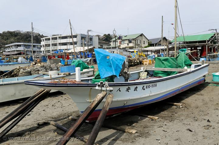 Travel pictures gallery japan kamakura 0022 fishing boat for Japanese fishing boat