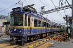 Pictures of Japan - Kamakura - Enoden Train, Enoshima, Electric Railway