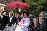 traditional japanese wedding at Tsurugaoka Hachimangu Shrine