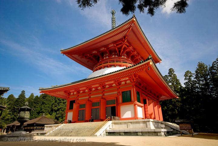 Japan Koyasan Pagoda or Stupa The Great Pictures of Daito