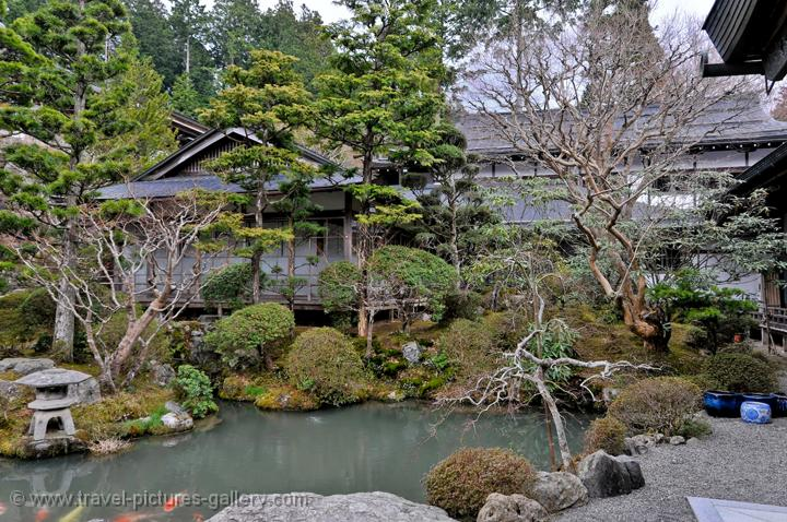 Koyasan Japan  City pictures : Travel Pictures Gallery Japan Koyasan 0040 pond and garden at a ...