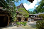 a monastery, Mount Koya is the center of Shingon Buddhism