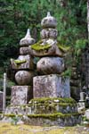 stupas in the forest, mausoleum of Kobo Daishi