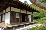 pavilion at the Ginkakuji temple