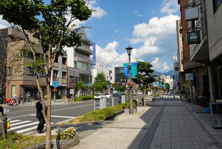 Pictures of Japan - Matsumoto - downtown Matsumoto, Nagano Prefecture