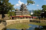Pictures of Japan - Matsumoto - Matsumoto Castle is listed as a national treasure of Japan