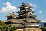 Pictures of Japan - Matsumoto - Matsumoto Castle was originally built in 1590-'94