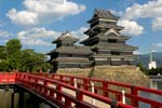 Pictures of Japan - Matsumoto - Matsumoto Castle, one of Japan's most impressive castles