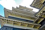 Matsumoto Castle, tiered roof of the Donjon, tower