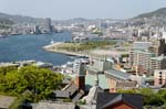 Pictures of Japan - Nagasaki - view over the city from Clover Garden