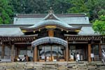 the Suwa Jinja, an important Shinto shrine