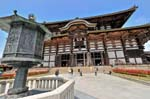 Pictures of Japan - Nara - Todai-ji temple is a Unesco World Heritage site