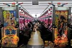 playing a game of Pachinko