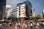 Pictures of Japan - Tokyo - Shibuya, a popular shopping and entertainment area