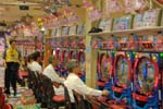 a Pachinko hall, Japan's favourite game
