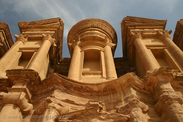 Pictures of Jordan - Petra -the Monastery, Al Deir, a higlight of Nabatean architecture