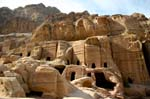 the Royal Nabatean tombs