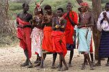 Masai People, traditional dress, Samburu N.P.