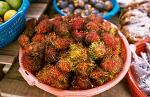 lychee on a local market