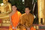 young monks at the Pha That Luang