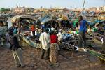 the most vibrant port in Mali on the Niger River