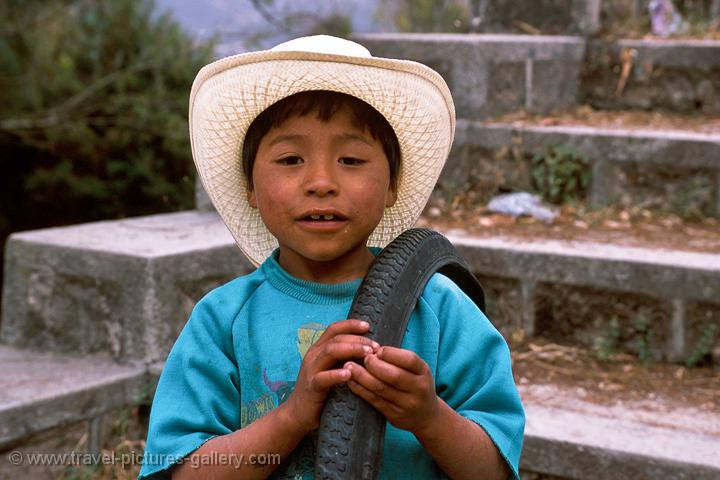 local boy in San Cristobal de las Casas