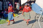 traditional dress at Tlacolula market