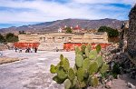 Mitla, the second most important archeological site in the state of Oaxaca