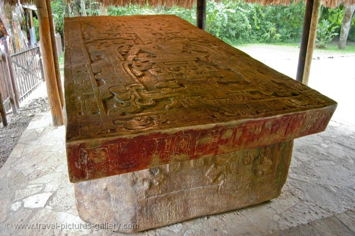 Carved Stone Slab : Pictures of mexico palenque great carved stone slab