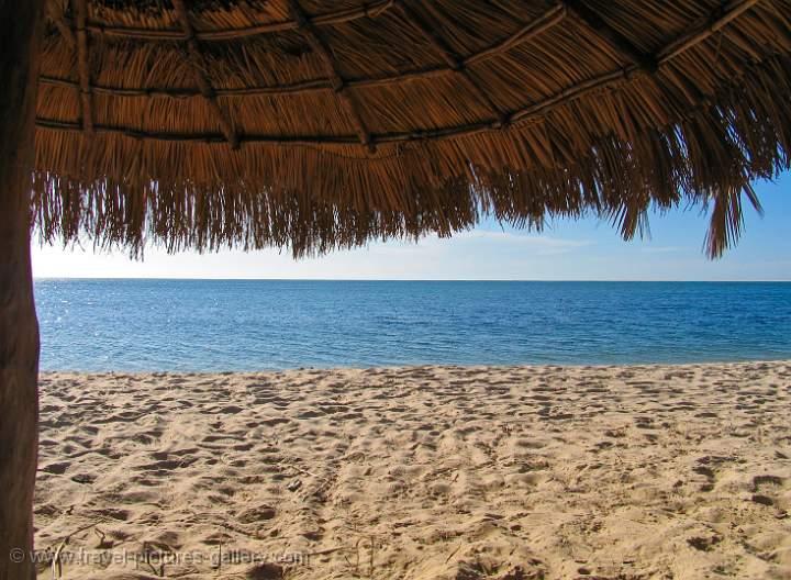 Pictures of Mozambique - Bazaruto Island, unspoilt beach
