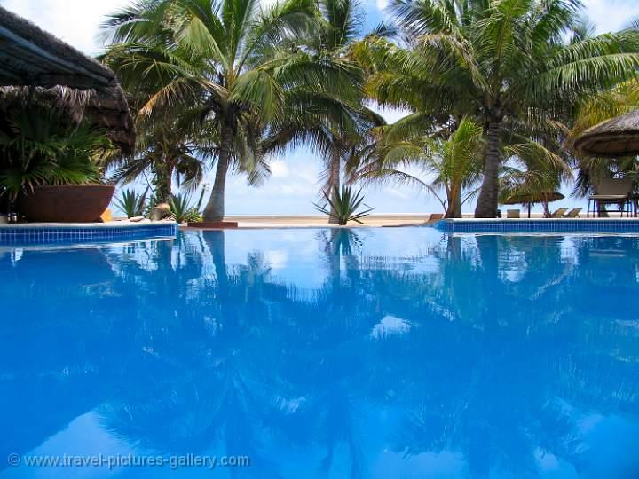 cool blue pool, Bazaruto Island