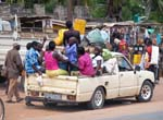 local transport, market near Morongulo