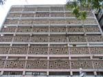 modern concrete building, Maputo