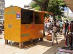 fastfood stall, Maputo