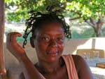 woman with dreadlock hairdo, Morungulo
