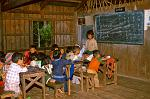 village school in the hills near Kalaw